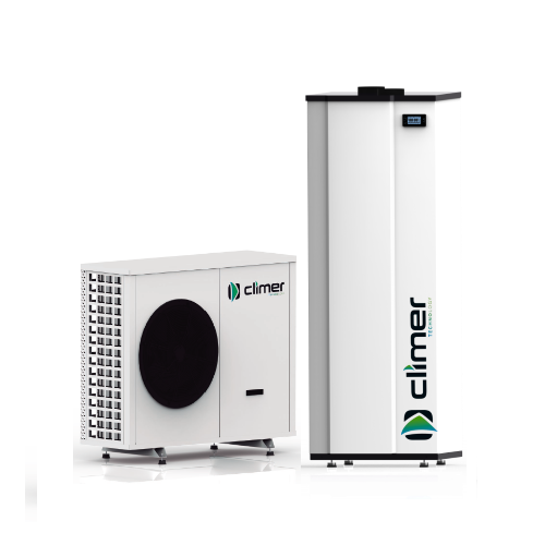 Climer AIRYS + ECOHEAT product afbeelding warmtepomp